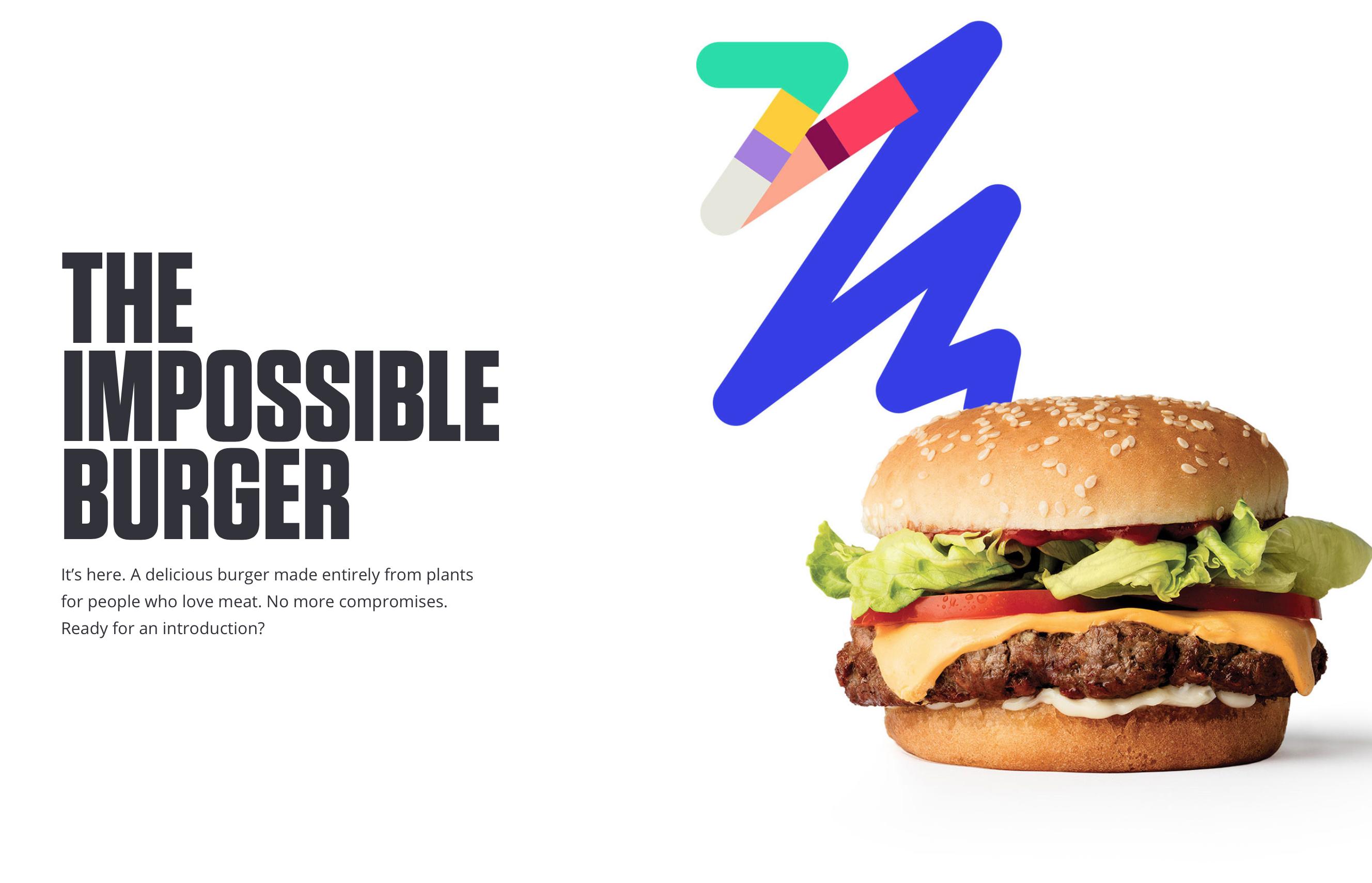 肉じゃない肉 Impossible Foodsのバーガー食べてみた