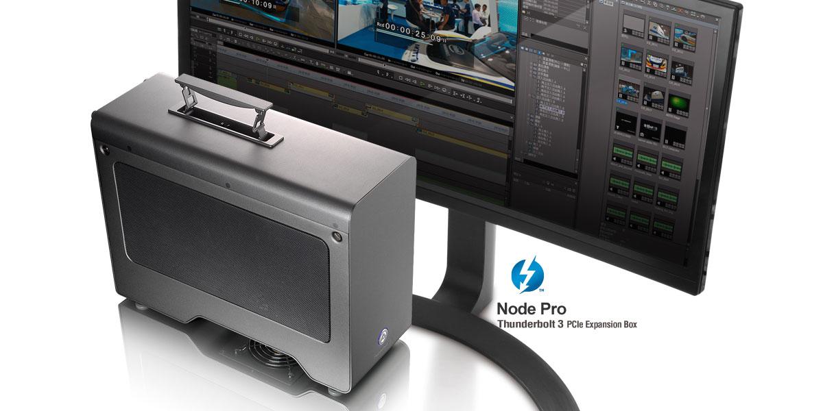Macbook Pro グラボ拡張eGPU Akitio Node Pro